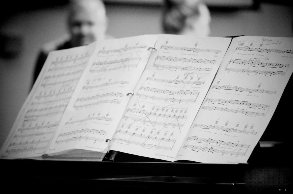 Partition musique piano