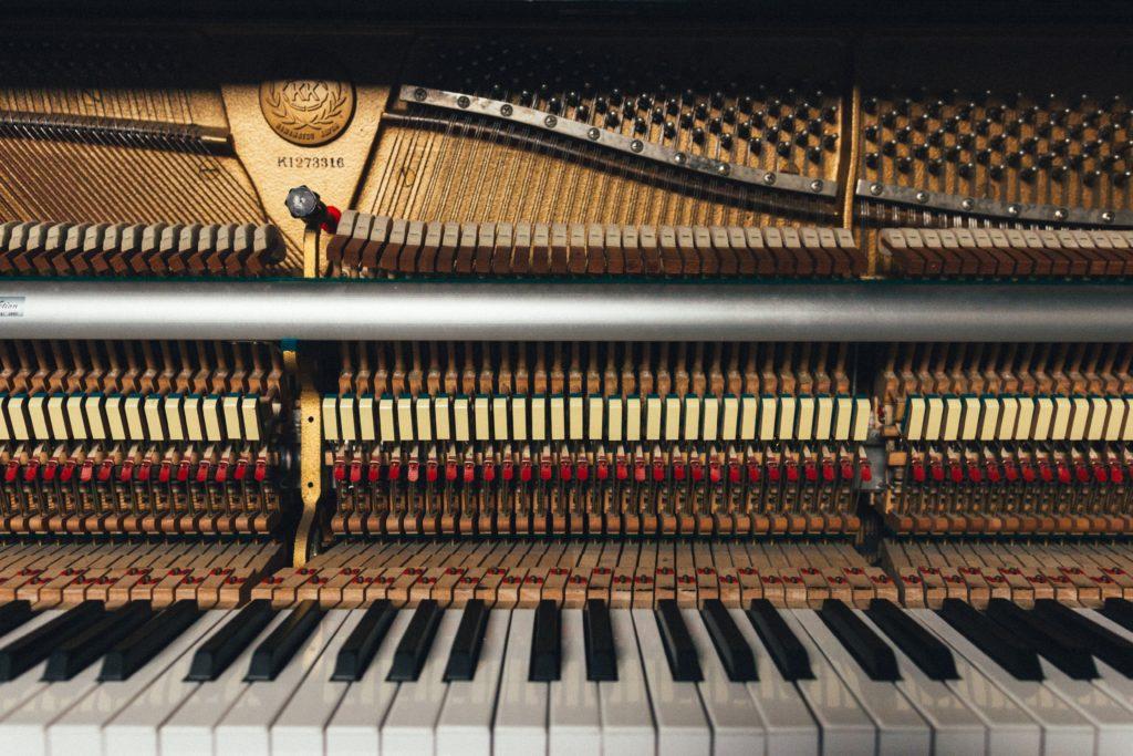 Le piano vu de l'intérieur